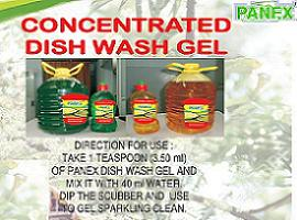 PANEX Concentrated Dish Wash Gell
